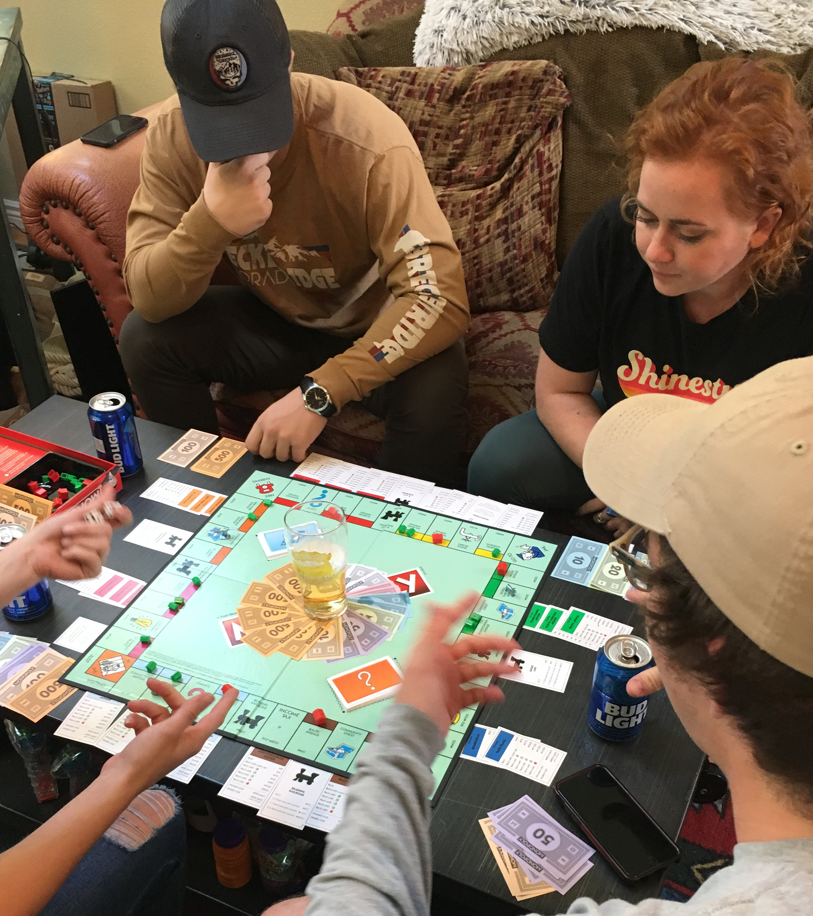 Drunk Monopoly Game