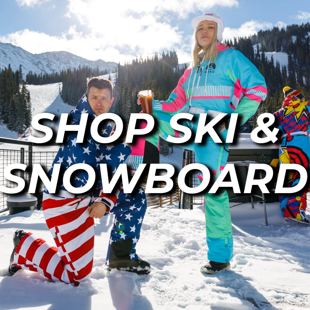 Ski and snowboard shopping